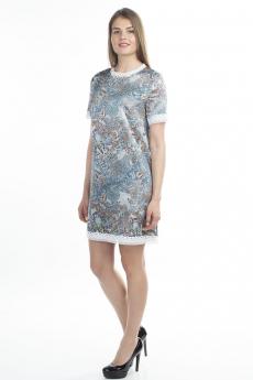 Платье с кружевной окантовкой Bast