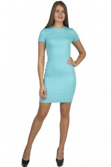 Голубое короткое платье Bast